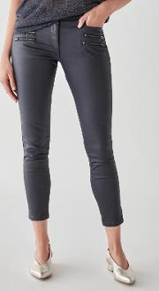 Great Plains Oiled Denim Skinny Jeans
