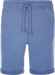 Terry Cotton Sweat Shorts, Cobalt Blue