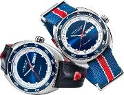 H35405741 Men's American Classic Pan Europ Automatic Day Date Leather Strap Watch