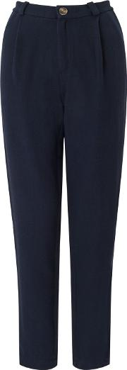 Epicure Straight Trousers, Marine