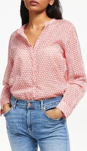 Carta Diamond Print Blouse