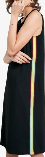 Laurie Side Stripe Relaxed Dress