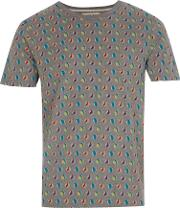 Marbles Graphic Print T Shirt, Grey