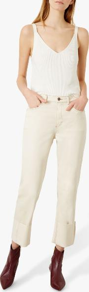 Sylvia Straight Relaxed Jeans
