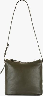 Maisie Small Hobo Leather Shoulder Bag