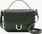 Cont Leather Cross Body Bag