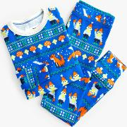 Crewcuts By  Boys' Fox And Gnome Pyjamas