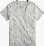 Pocket Crew Neck T Shirt
