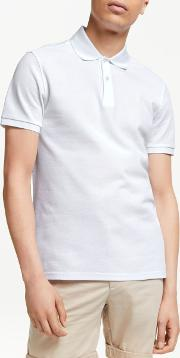 Troy Clean Pique Slim Fit Polo Shirt