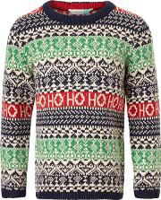Boys' Ho Ho Ho Knit Jumper