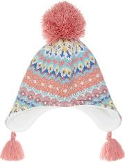 b645260da5402 Children's Pretty Fair Isle Trapper Hat. john lewis