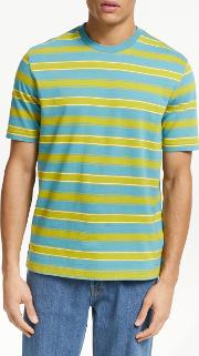 Clearlake Stripe Organic Cotton T Shirt