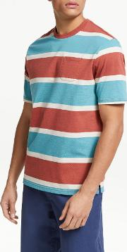 Simi Stripe Organic Cotton T Shirt