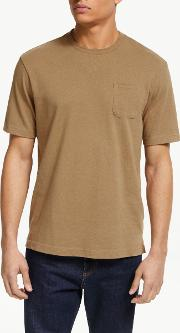 Tahoe Cotton Linen Short Sleeve Pocket T Shirt