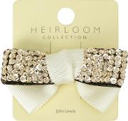 Girls' Sequin Bow