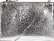 Helena Contrast Pouch Clutch Bag