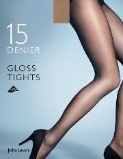 3020c09b8 15 Denier Gloss Tights. john lewis   partners