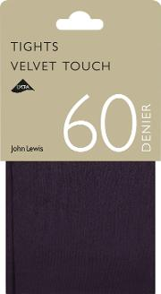 968c8c15afc8a 60 Denier Velvet Touch Opaque Tights. john lewis & partners