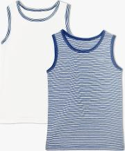 Boys' Organic Cotton Tops, Pack Of 2