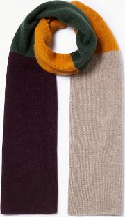 23f997f2f3962 Cashmere Colour Block Scarf. john lewis & partners