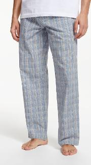 Multi Check Poplin Pyjama Bottoms