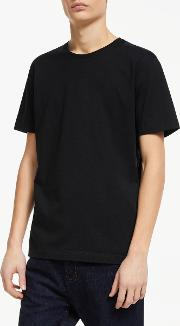 Supima Cotton Jersey Crew Neck T Shirt