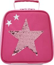 Sequin Star Lunch Bag