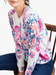 Skye Button Front Floral Cardigan