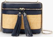 Cameron Street Rose Leather Small Cross Body Bag