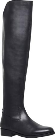 Varsity Over The Knee Boots