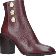 Dante Block Heeled Ankle Boots