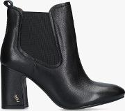 Raylan Block Heeled Ankle Boots