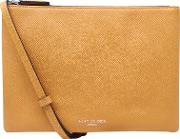Pisces Leather Pouch Clutch Bag