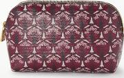 Iphis Print Canvas Cosmetic Bag