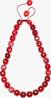 Maxwell Cube Bead Necklace