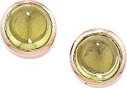 9ct Rose Gold Bubble Stud Earrings