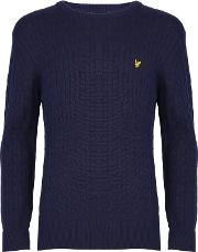 Boys' Cable Knit Jumper