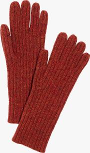 Ribbed Wool Gloves