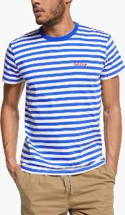Holidays Striped T Shirt