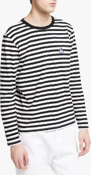 Shark Striped Long Sleeve T Shirt