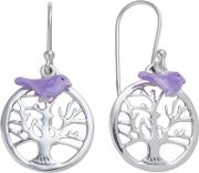 Martick Sterling Silver Tree Of Life Bird Earrings