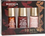 Heritage Colours Nail Polish Trio Gift Set