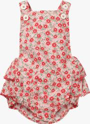 Baby Floral Frilly Romper
