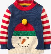Baby Fun Striped Knitted Jumper
