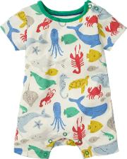 Baby Under The Sea Jersey Romper
