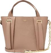 Ribbon Eastwest Small Leather Work Bag