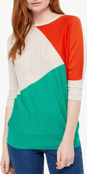 Cleo Colour Block Jumper