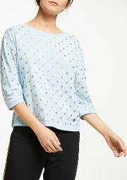 Brighed Spotted Blouse