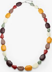 Beaded Long Necklace