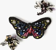 Butterfly Bee And Dragonfly Brooch, Set Of 3